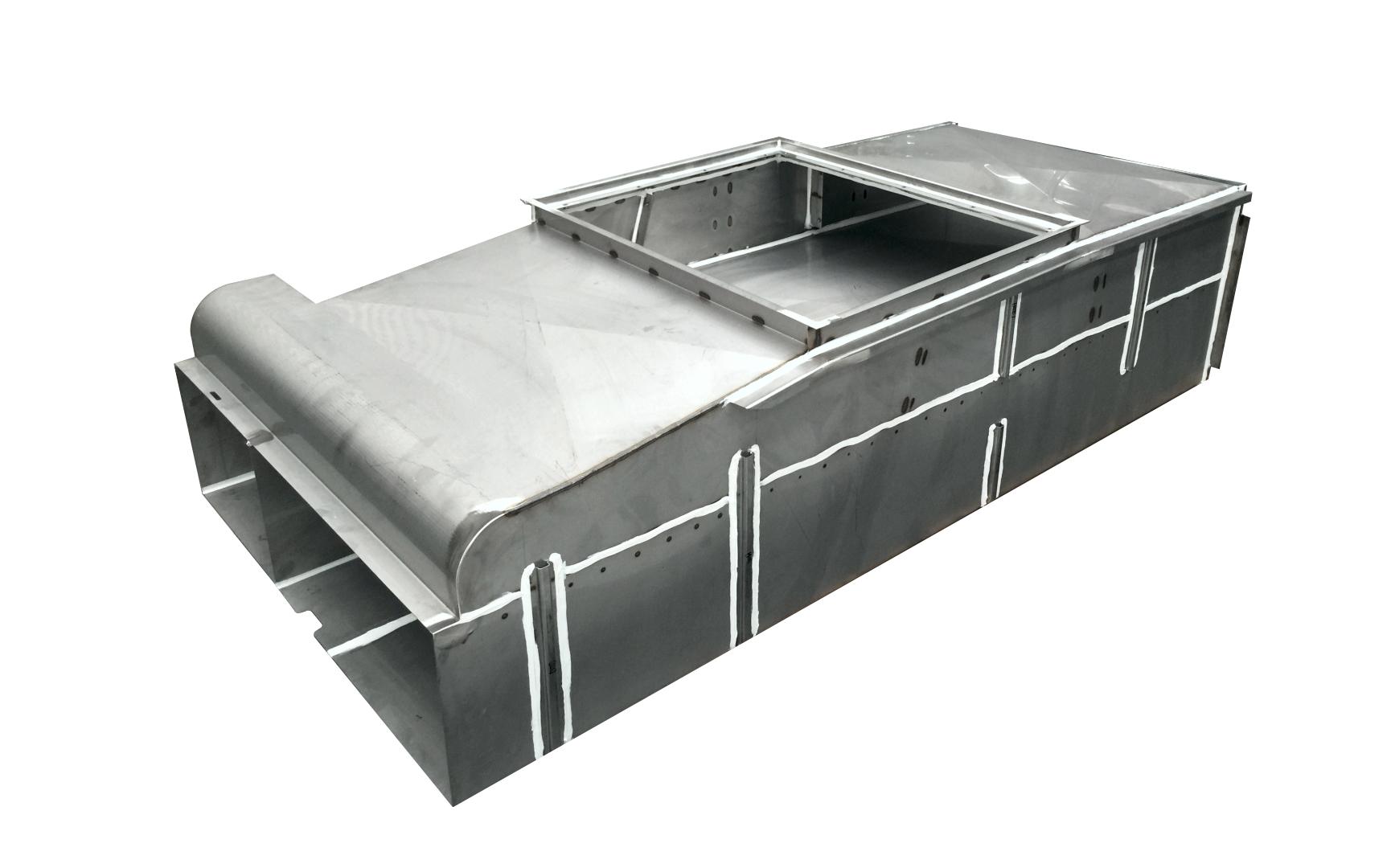 Train Air Conditioning Duct Metaltex Australia