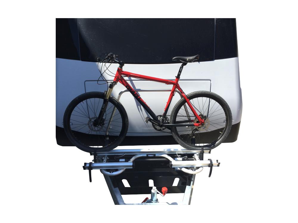 Caravan Bike Rack Mount Assembly Metaltex Australia