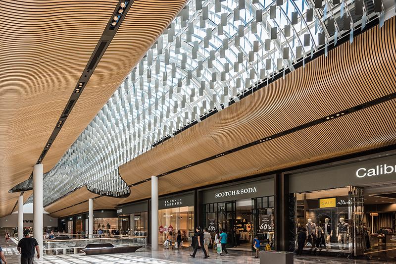 Eastland Shopping Centre Chandelier Metaltex Australia