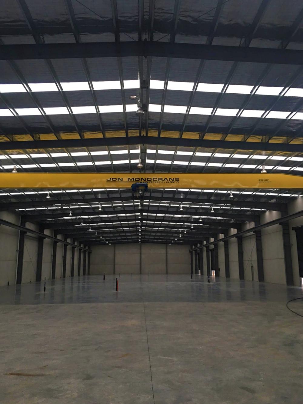 metaltex new building factory